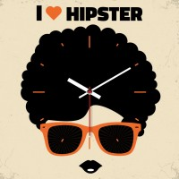 OROLOGIO HIPSTER HER 29x29 cm IN FOREX
