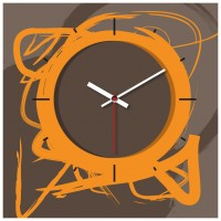 OROLOGIO SCRIBBLE 29x29 cm IN FOREX