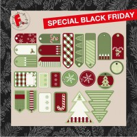 KIT TAG NATALE GREEN