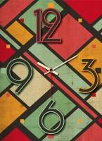 OROLOGIO VINTAGE multicolore 30x39 cm IN LEGNO